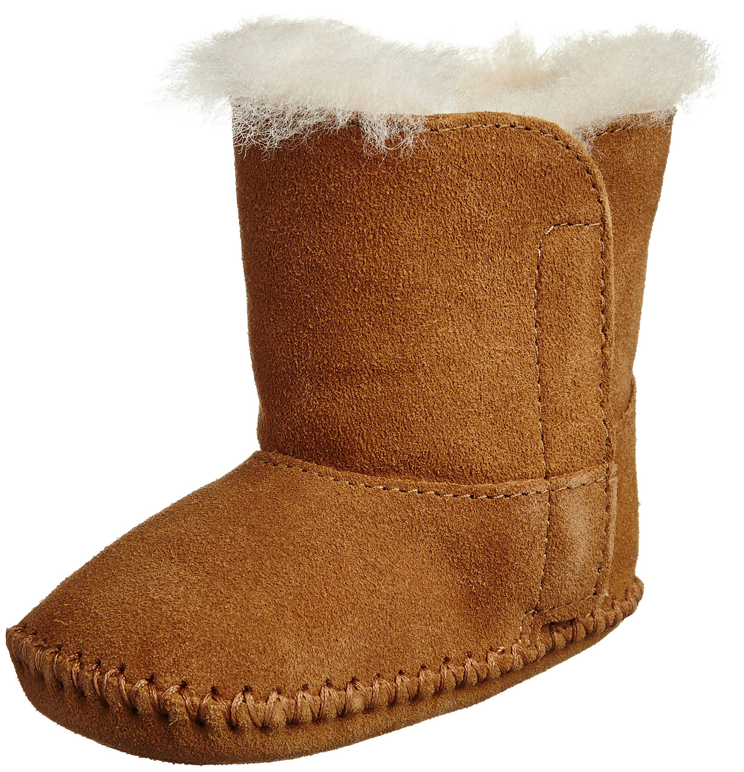 UGG Australia Kid's Caden Chestnut Sheepskin Boot 0/1 (0-6 Months) M US