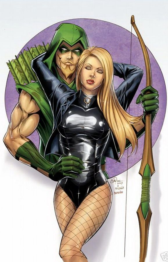 Black Canary And Green Arrow  Arrow Black Canary, Black -8493