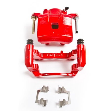 S4071 Red Powder Coat Power Stop Performance Brake Calipers