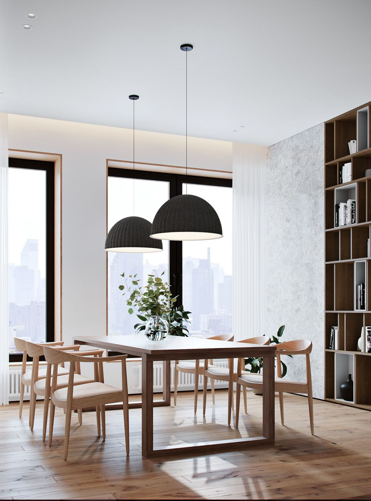 Cozy Dining Room Decor Ideas: Cozy Contemporary Family Apartment In Moscow