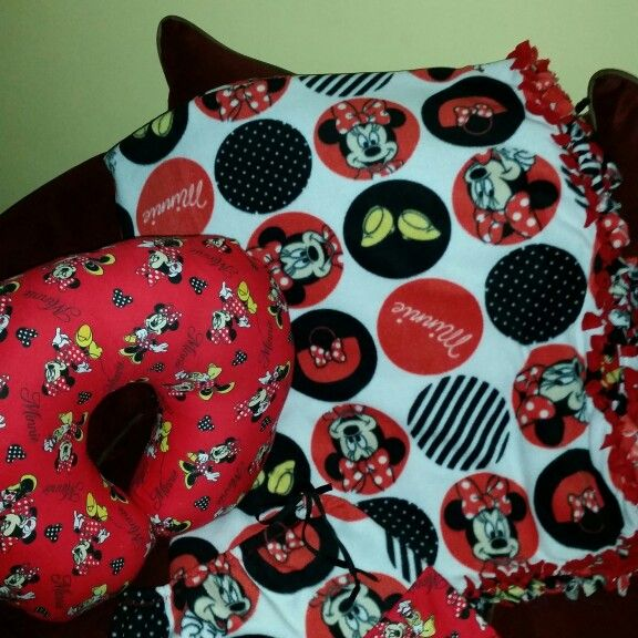 Minnie Mouse Boppy Pillow And Blanket Set Joy Decor Designs Extraordinary Minnie Mouse Boppy Pillow Cover