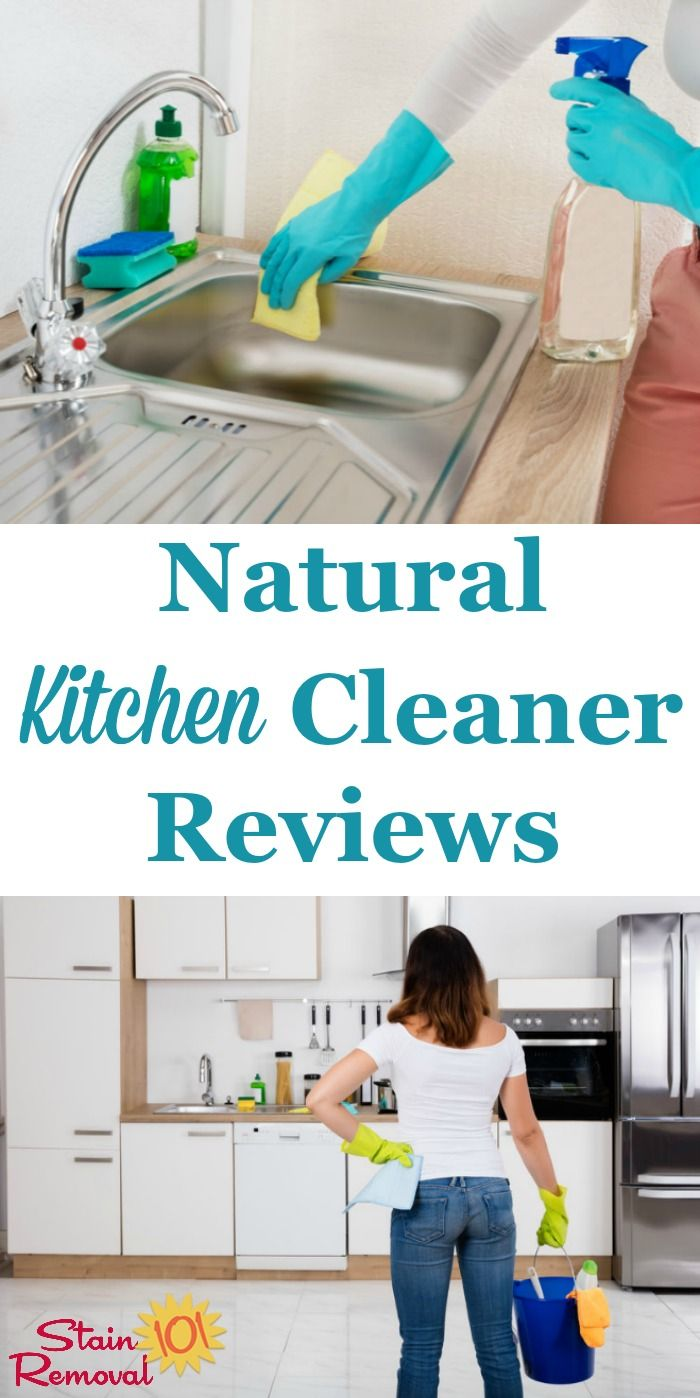 Natural Kitchen Cleaner Reviews: Which Work Best? | Green Cleaning ...