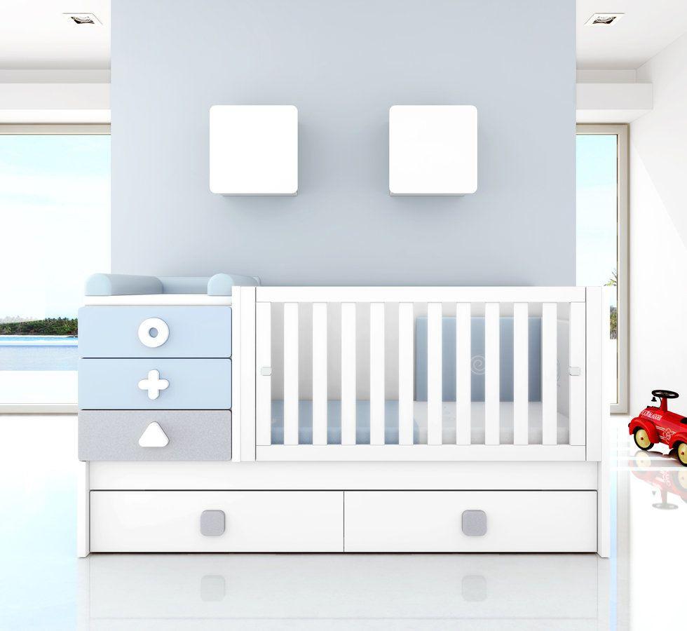 Lettino trasformabile con cassetti my future home dormitorio bebe bebe dormitorios for Lettino trasformabile usato