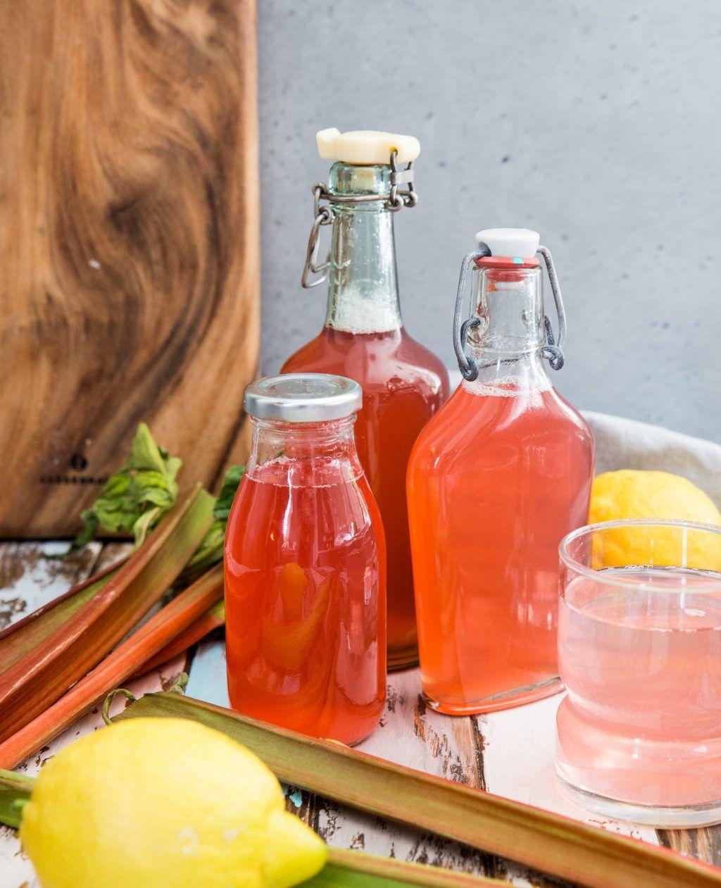 rabarberdricka med citron