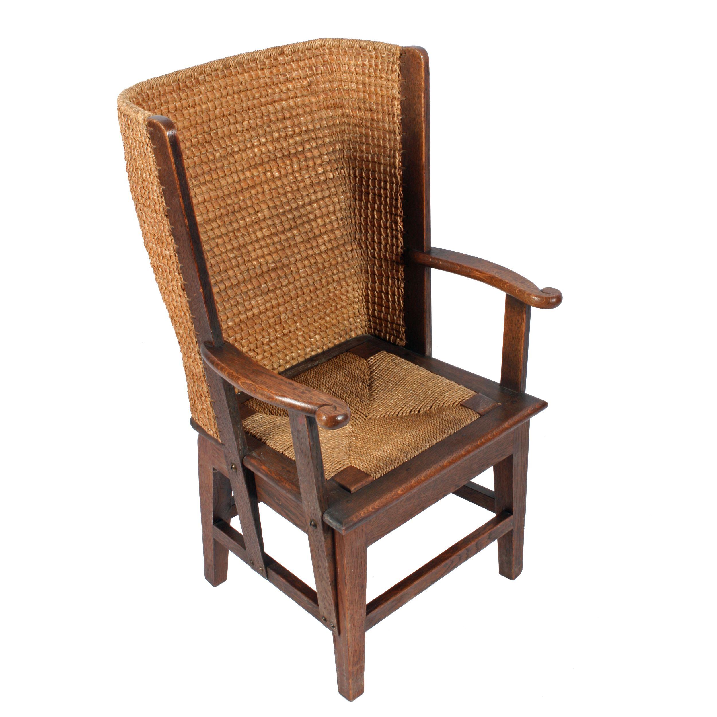 Schottische Möbel oak orkney chair