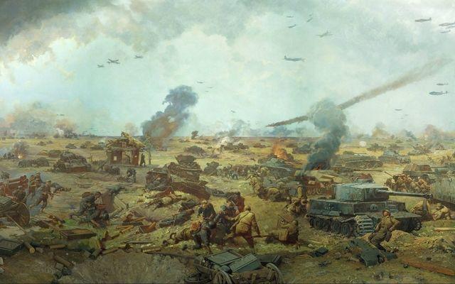 Battle Of Kursk War Art Artistic Wallpaper Military Art