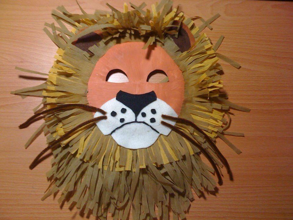 Jungle themed paper plate lion mask & Jungle themed paper plate lion mask | Craft crafts! | Pinterest ...