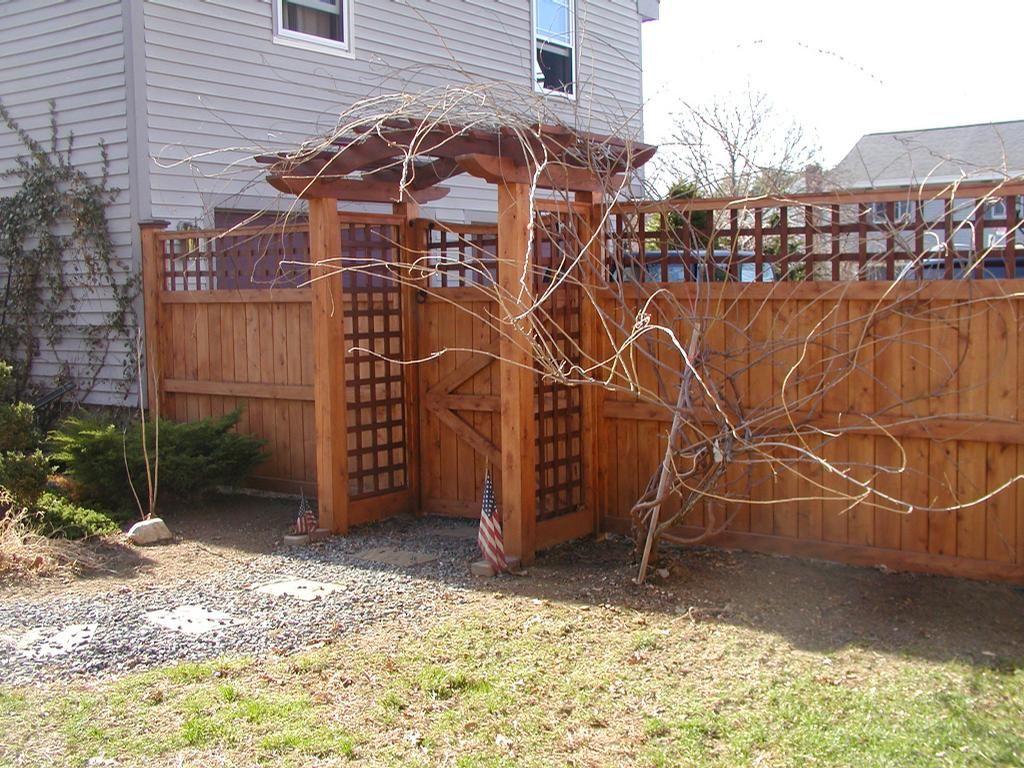 Board Lattice Cedar Maynard Ma By Sudbury Fence Co Inc Garden Gates Pinterest Fences Porch And Patios