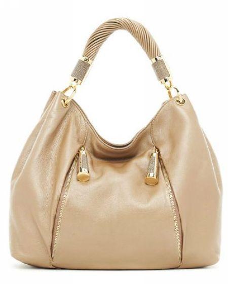 66ba27e855 Michael Michael Kors Tonne Hobo Desert-tan Leather