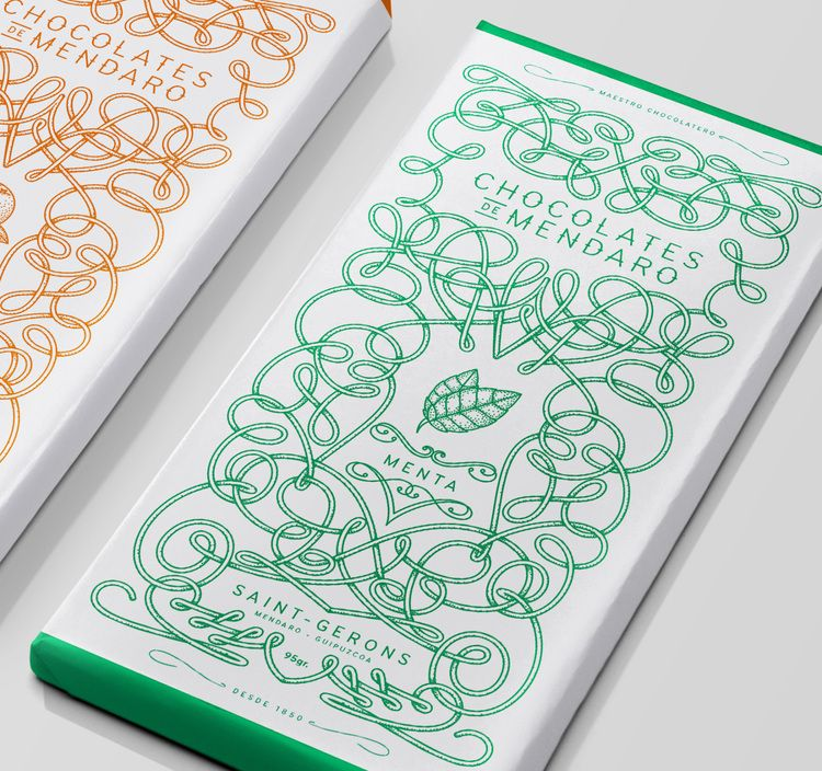 Chocolates de Mendaro — The Dieline - Package Design Resource