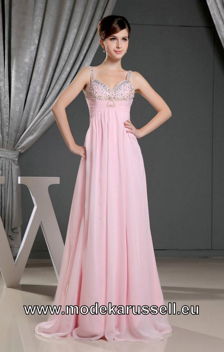 Rosanes Chiffon Empire Abendkleid mit Träger  Abendkleid, Kleider