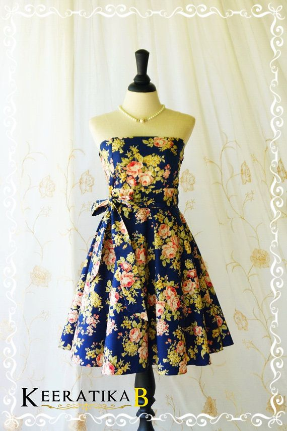 My Lady III Spring Summer Sundress by LovelyMelodyClothing on Etsy