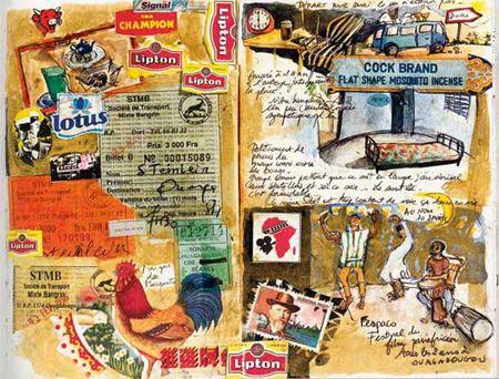 carnet de voyage carnet de voyage pinterest carnets. Black Bedroom Furniture Sets. Home Design Ideas