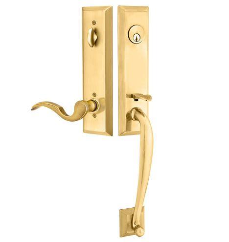 Adams Exterior Tube Latch Door Set With Cortina Lever Door Sets Doors French Antiques