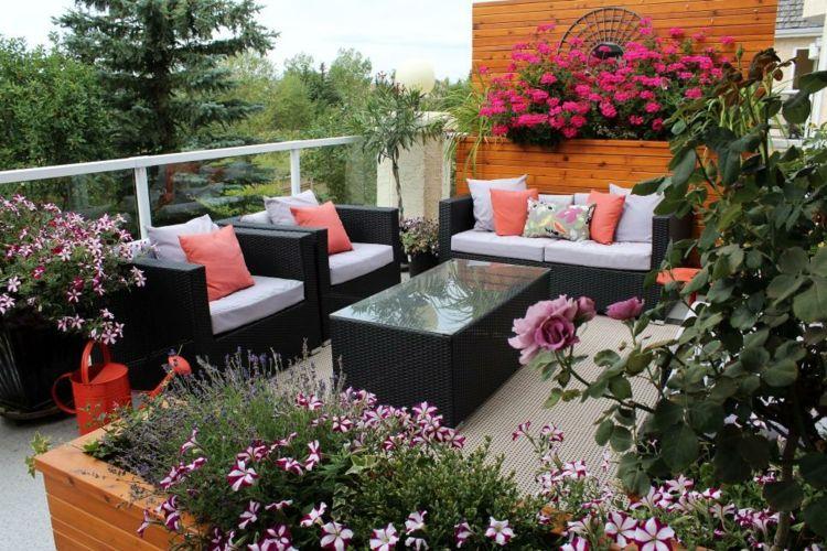 Decoracion De Terrazas Con Plantas Y Flores - Ideas de nuevo diseño