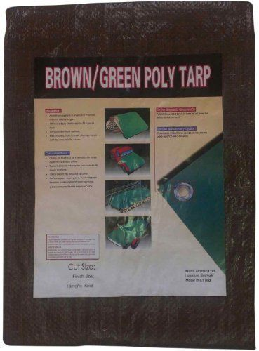 Kotap Tbg 2040 All Purpose 20 By 40 Foot Reversible Brown Green Poly Tarp By Kotap 44 17 From The Manufacturer Mold And Mildew Tarps Mildew Resistant