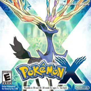 Pokemon X Pokemon 3ds Pokemon Pokemon Nintendo 3ds Games