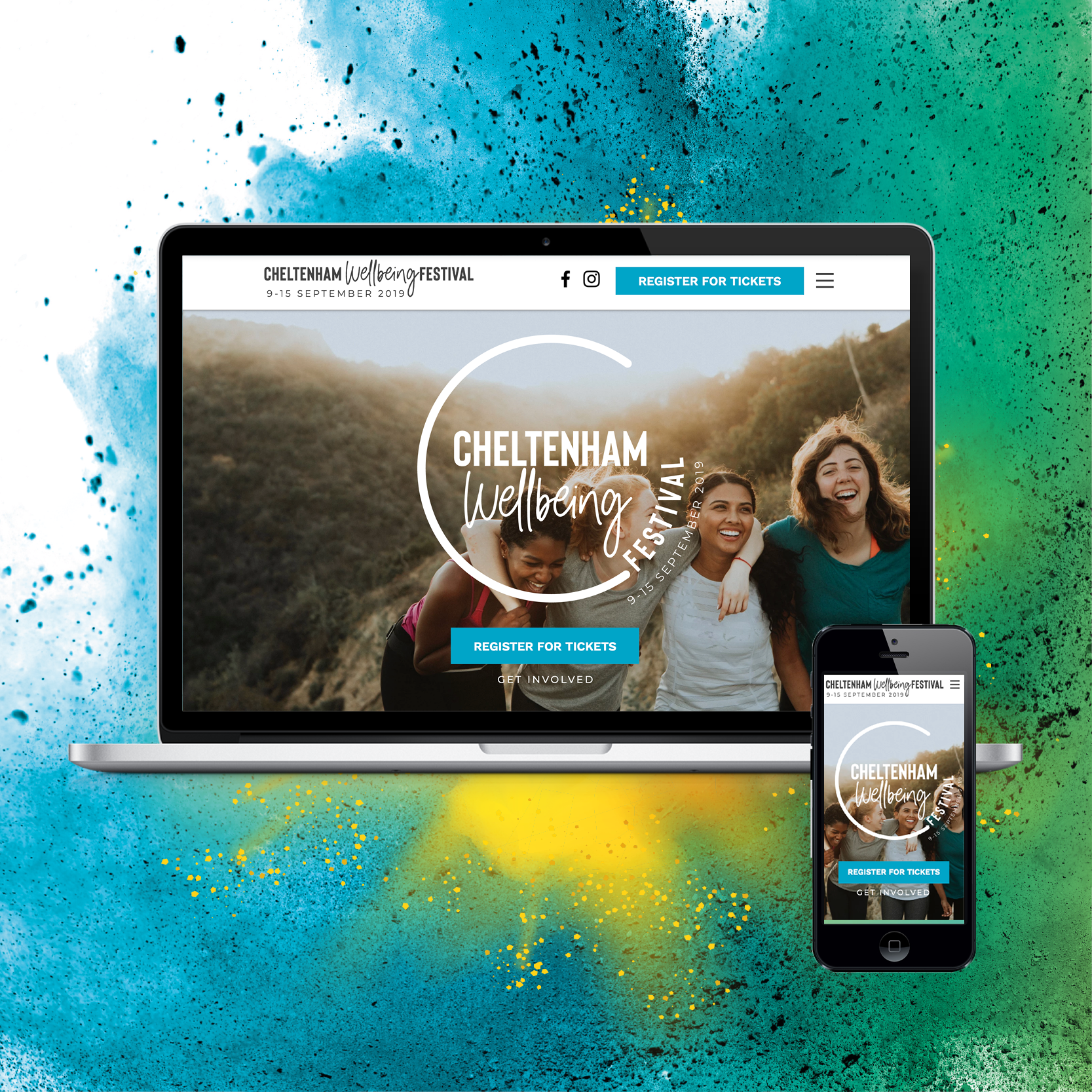 Website Created For Cheltenham Wellbeing Festival With Images Create Website Digital Marketing Services