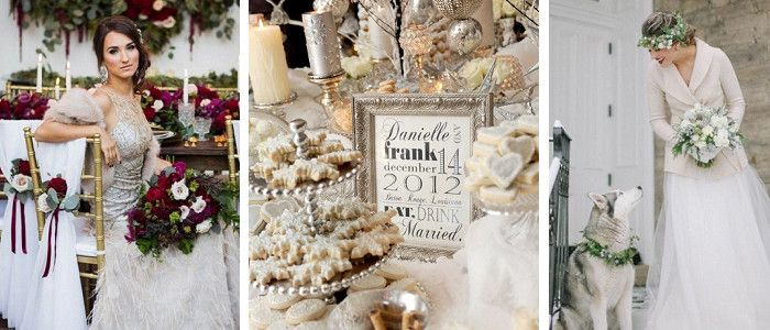Christmas wedding ideas at exclusive wedding decoration and perfect wedding magazine must see ideas for a christmas wedding junglespirit Image collections