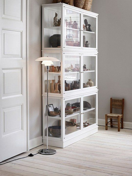Curio Cabinet Comeback Display Cases in Modern Rooms is part of Metal Display cabinet - The words 'curio cabinet' and even 'display case' may bring to mind something fusty and oldfashioned