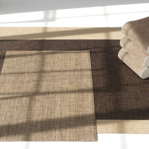Chilewich Basketweave Floormat Sample Swatch By Chilewich - Basket weave vinyl flooring