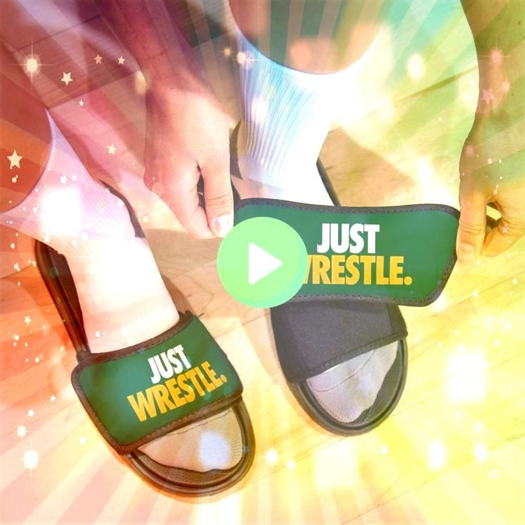 Repwell Slide Sandals  Just Wrestle  Products Wrestling Repwell Slide Sandals  Just Wrestle  Products  Gymnastics Repwell Slide Sandals  Tie Dye Silhouette Personalized F...