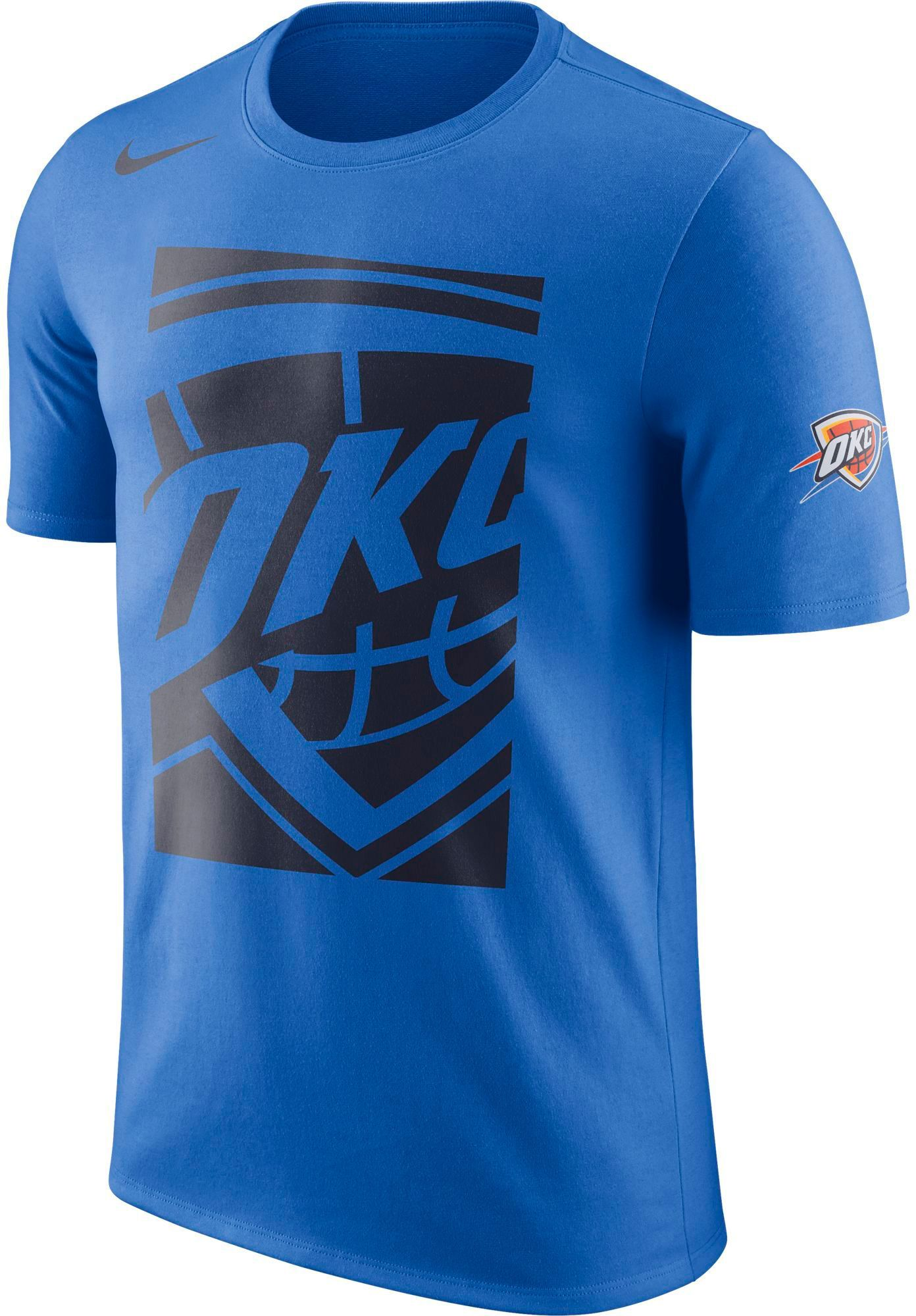 3caf05577a7 Nike Men s Oklahoma City Thunder Dri-FIT Blue T-Shirt