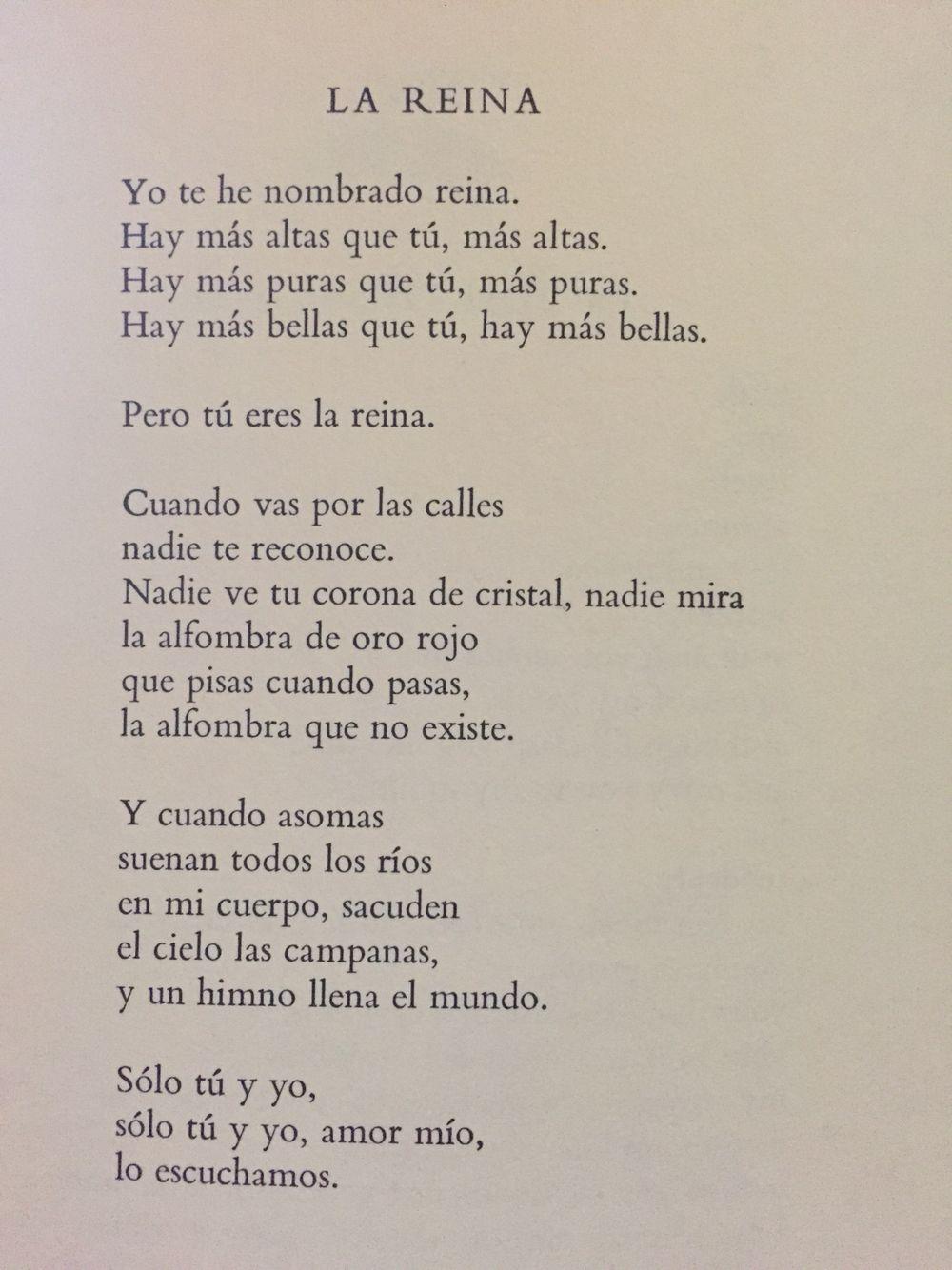La Reina De Pablo Neruda Quote Posters Poem Quotes Favorite Quotes