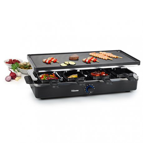 Tristar RA2995 Raclette Grill with 8 Pans
