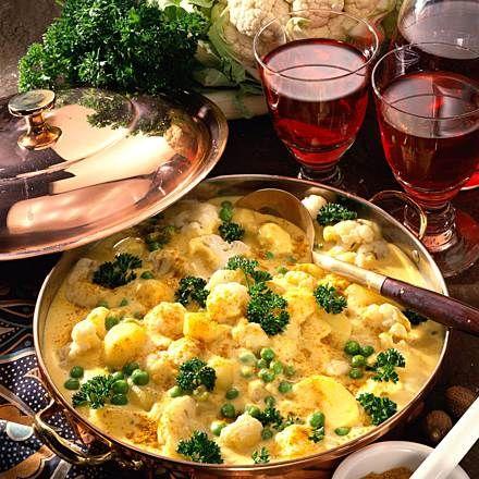 Würziges Blumenkohlcurry Rezept | LECKER #vegetarischerezepteschnell