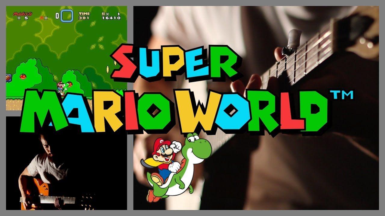 samuraiguitarist plays a cover of the super mario world soundtrack