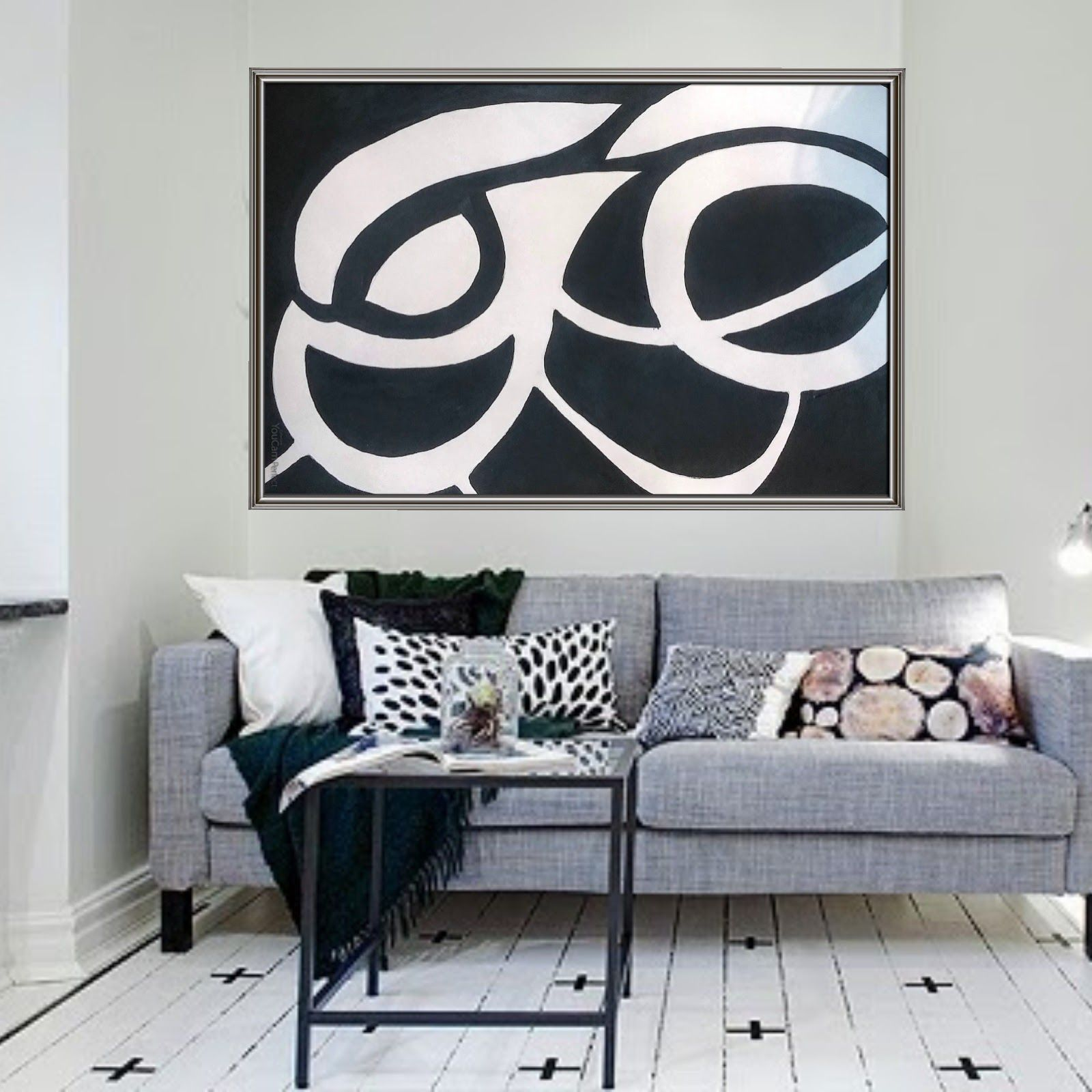 Black And White Painting Ides For Abstract Paintings And Abstract Art For Your  Home Decor, Design Inspirations