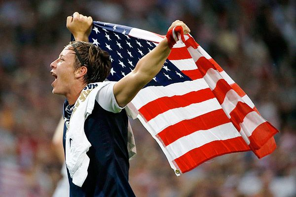 Abby Wambach - Congratulations on another gold medal!!!