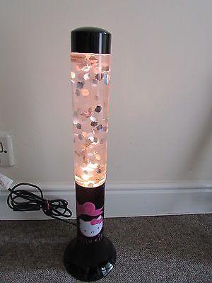 Elegant Hello Kitty Glitter Desk Lamp Smart Light Lava Lamp, Height, (v.
