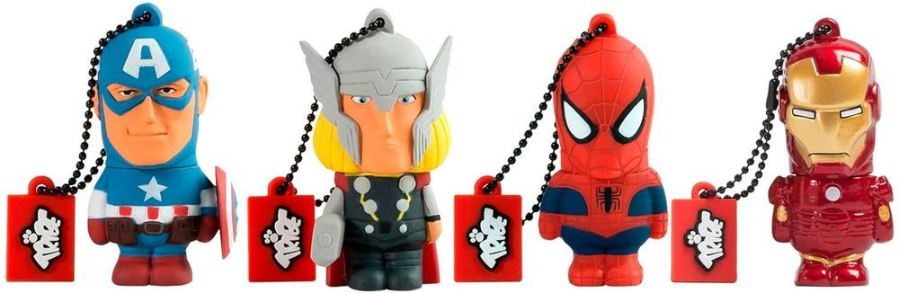 Marvel - Avengers 16GB USB 2.0 Type A Flash Drive - Styles May Vary