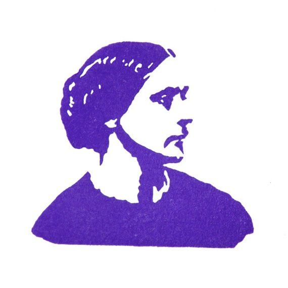 Susan B Anthony Stamp Hand Carved Rubber By Jackbear 1500