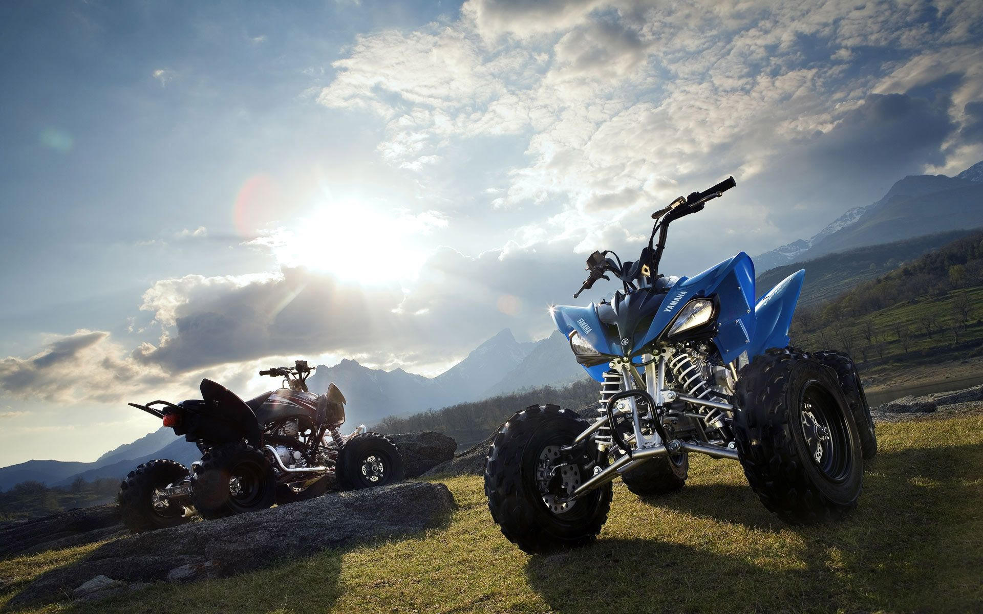 Yamaha Atv Wallpaper Hd X Yamaha Atv Quad Bike Motorcycle