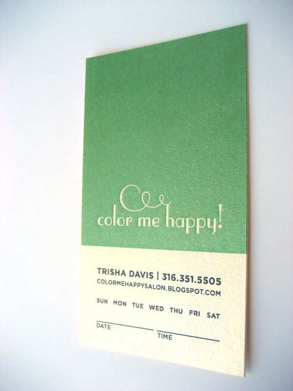 Appointment Cards on Behance Business cards Pinterest Behance