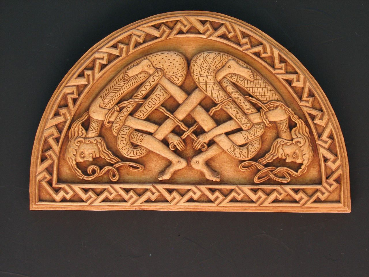Celtic wood carvings google search celtic and viking pinterest
