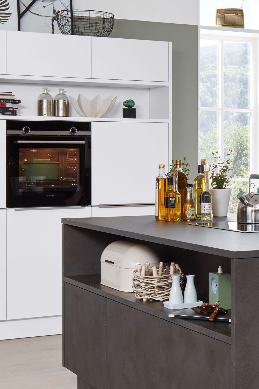 Die Interliving Küche Serie 3011 kombiniert die moderne ...