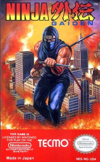 Ninja Gaiden Label Or Box Art Nintendo Games Gamer Snes