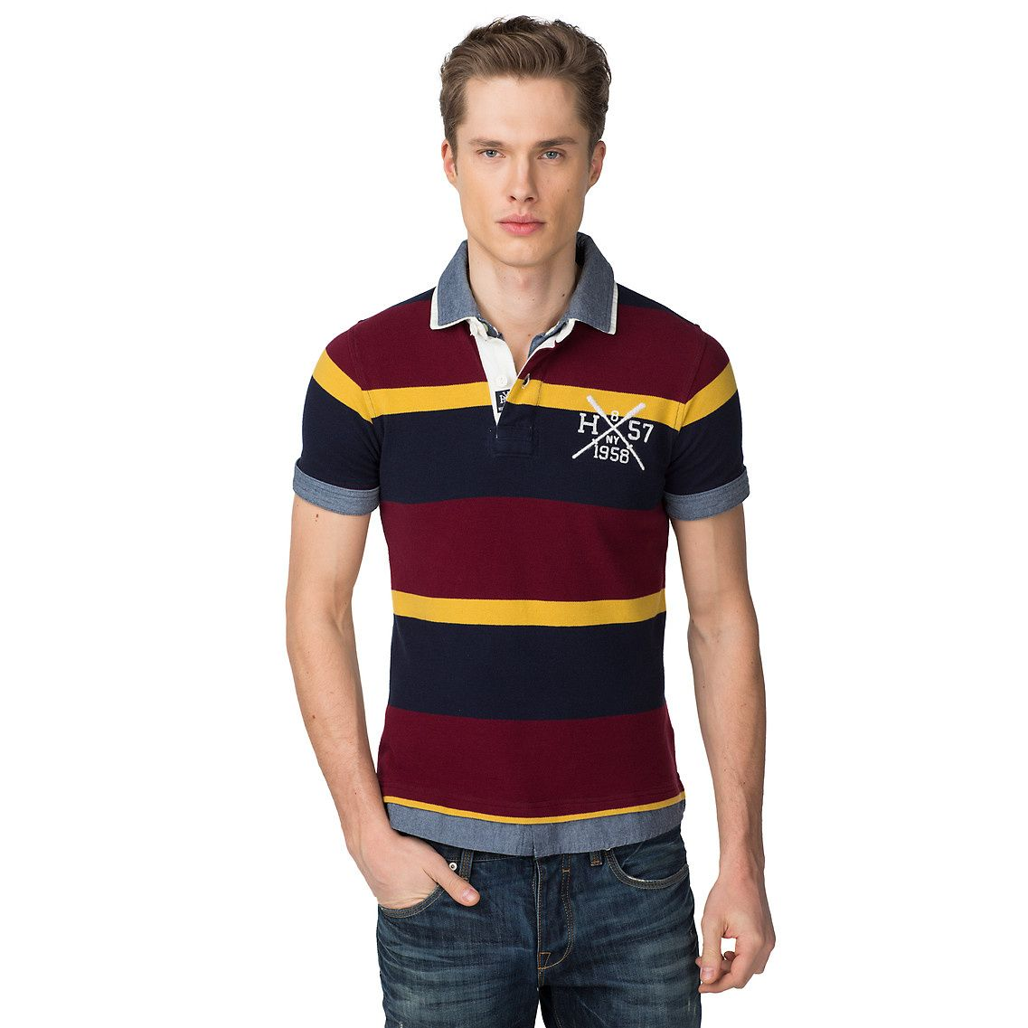 Bevan Slim Fit Polo -  25268cef655c9