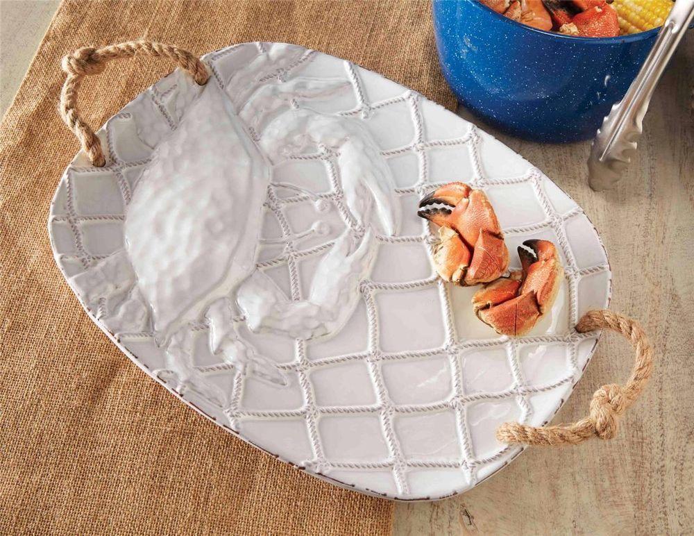 Mud pie crab home decor