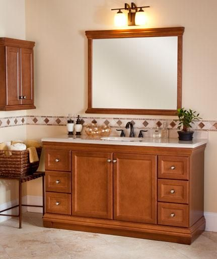 St Paul S Bwood 60in Bath Vanity Cabinet Fills Out A Large Master Bathroom And Can