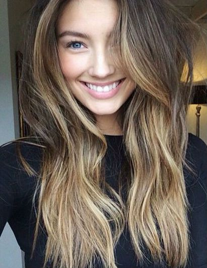 Yep, balayage is still a thing in hair colour – a GORGEOUS thing ...