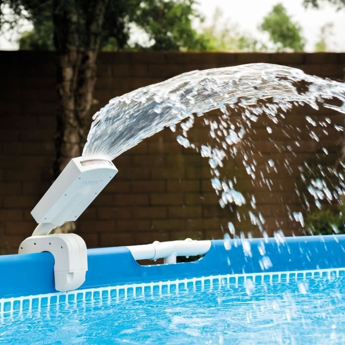 Intex Fontaine Piscine Led Multicolore With Images Pool Care