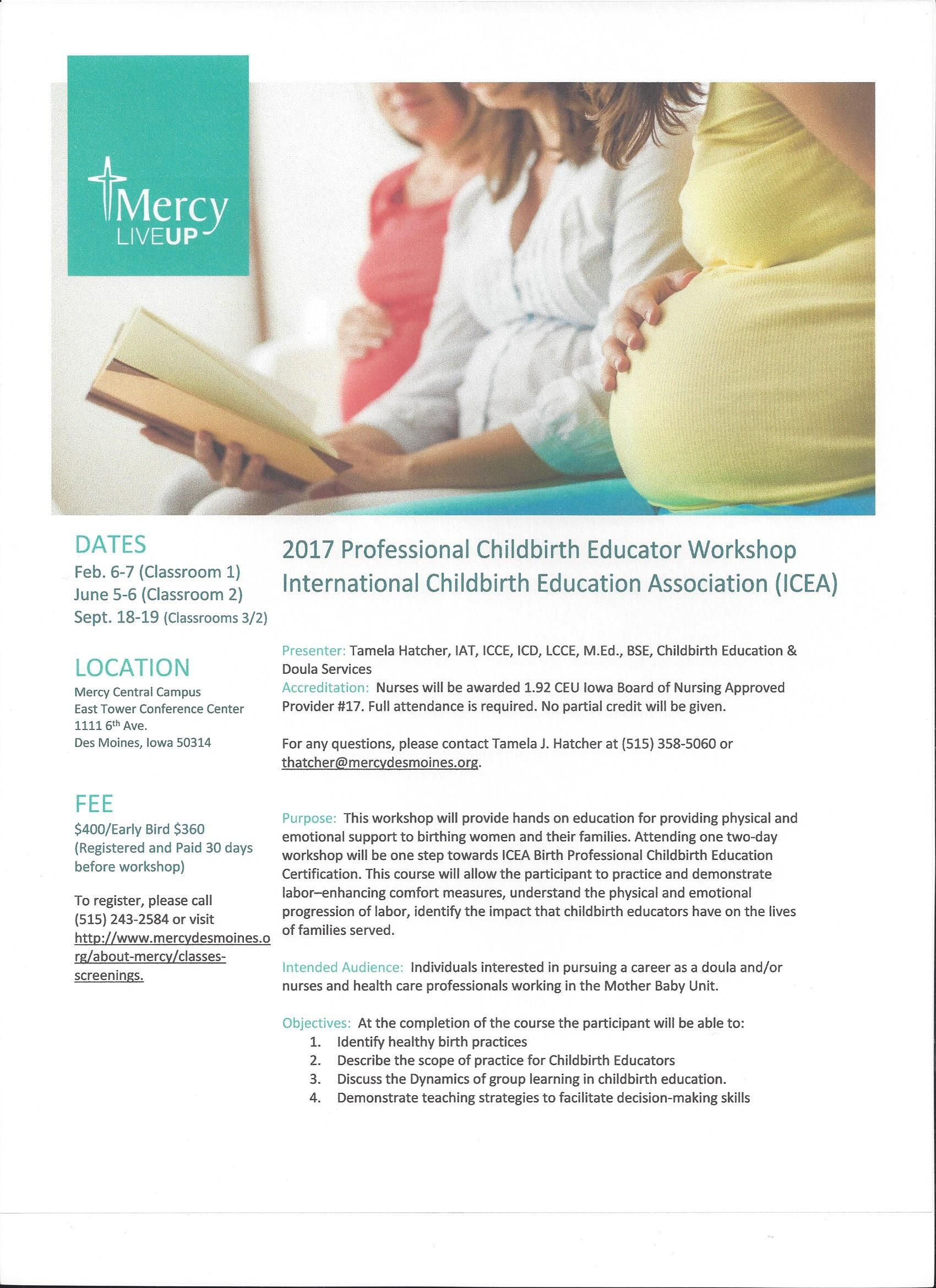 192 iowa board of nursing ceus provided completes requirements 192 iowa board of nursing ceus provided completes requirements for the international childbirth education association icea workshop certification xflitez Gallery