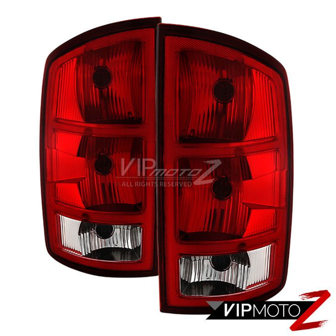 02 06 Dodge Ram 1500 2500 3500 Tail Light Lamp Left Right Side W Circuit Board Dodge Ram 1500 Regular Cab Dodge Ram Van