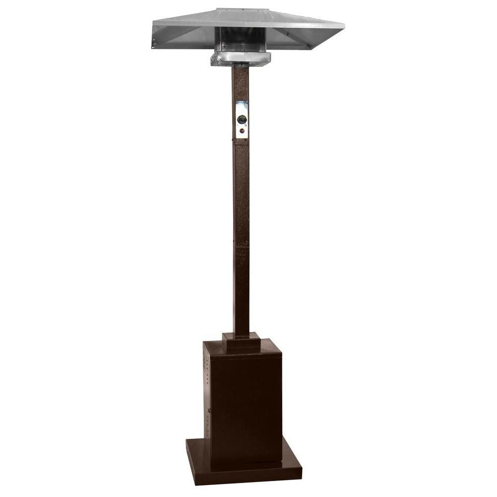 Az Patio Heaters 41 000 Btu Commercial Hammered Bronze Gas Patio Heater Hs Hg The Home Depot Patio Heater Gas Patio Heater Propane Patio Heater