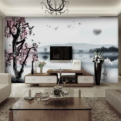 Exceptionnel Wallpaper Decor Living Room   Google Search
